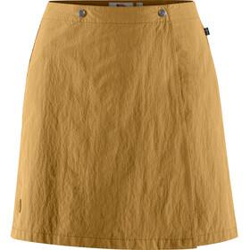 Fjällräven Travellers MT Spódnica Kobiety, żółty